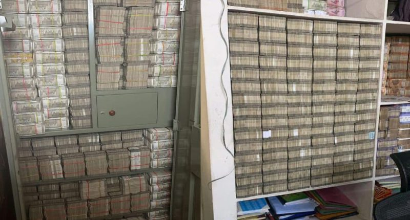 No work came in the cupboard, the income tax department confiscated